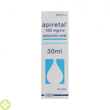 APIRETAL 100 MG/ML SOLUCION ORAL 30 ML