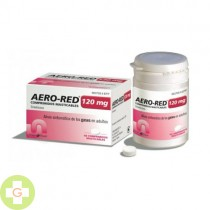 AERO RED 120 MG 40 COMPRIMIDOS MASTICABLES