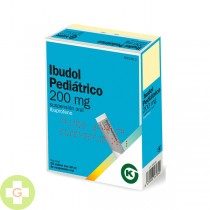Ibudol Pediatrico 200 Mg 20 Sobres Suspension Oral
