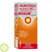 NUROFEN PEDIATRICO 40 MG/ML SUSPENSION ORAL SABOR FRESA - (150ML)