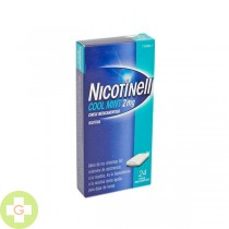 NICOTINELL COOL MINT 2MG, 24 CHICLES MEDICAMENTOSO
